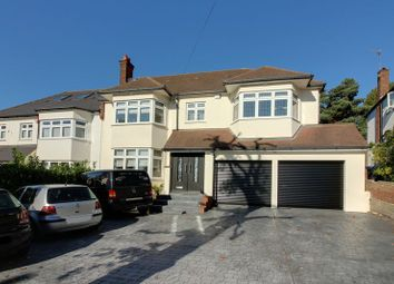 Thumbnail 5 bed semi-detached house for sale in Slades Hill, Enfield