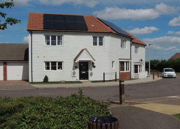 Thumbnail 3 bed semi-detached house for sale in Guelder Rose Drive, Hoo, Rochester