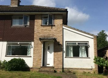 Thumbnail 4 bed semi-detached house to rent in Burgess Close, Woodley