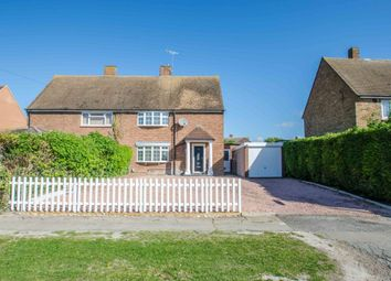 Thumbnail 3 bed semi-detached house for sale in Dunstall Road, Barton-Le-Clay, Bedford