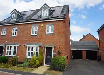 Thumbnail 4 bed semi-detached house for sale in Arlington Close, Leicester