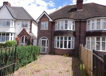 Thumbnail 3 bed semi-detached house for sale in Wood End Lane, Erdington, Birmingham, West Midlands