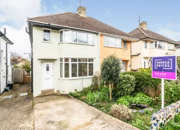 Thumbnail 3 bed semi-detached house for sale in Montagu Road, Oxford