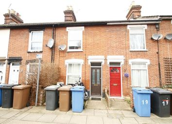 Thumbnail 2 bedroom terraced house for sale in Finchley Road, Ipswich, Suffolk