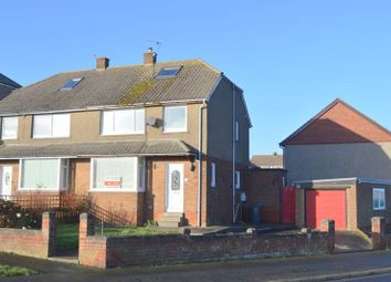 Thumbnail 3 bed semi-detached house to rent in Spittal Hall Road, Spittal, Berwick-Upon-Tweed