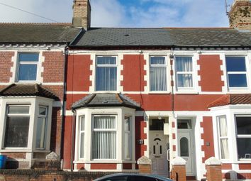 Thumbnail 4 bedroom terraced house for sale in Andrew Road, Penarth