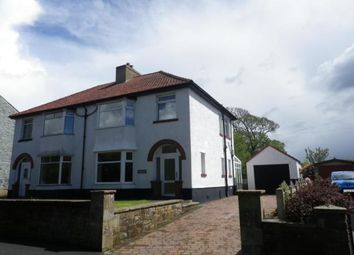 Thumbnail 3 bed semi-detached house for sale in Roseneath, West Road, Wigton