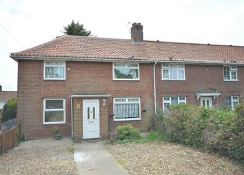 Thumbnail 3 bed end terrace house for sale in Drayton Road, Norwich