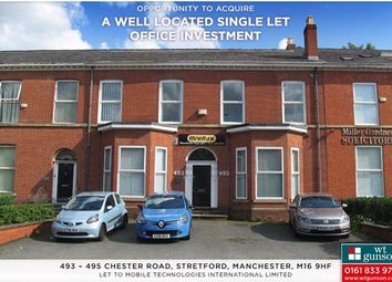 Thumbnail Commercial property for sale in 493-495 Chester Road, Trafford, Manchester, Greater Manchester