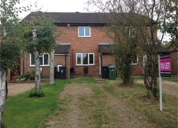 Thumbnail 2 bed town house to rent in Kirtley Way, Broughton Astley, Leicester