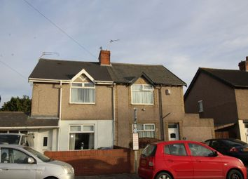 Thumbnail 2 bedroom semi-detached house for sale in Newcastle Road, Blyth