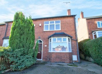 Thumbnail 3 bed end terrace house for sale in Redhill Road, Arnold, Nottingham