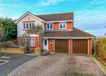 Thumbnail 4 bed detached house for sale in Poplar Close, Newton Abbot