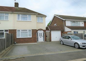 Thumbnail 3 bedroom semi-detached house for sale in Drakes Close, Cheshunt, Waltham Cross, Hertfordshire