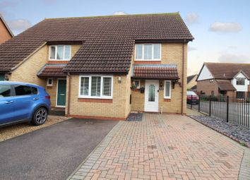 The Rookery, Sandy SG19. 3 bed semi-detached house for sale