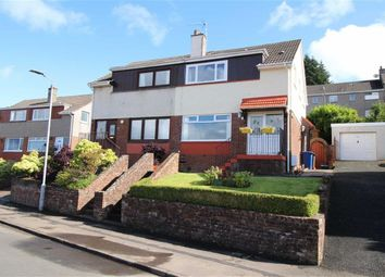 Thumbnail 3 bed semi-detached house for sale in Cowal View, Gourock, Renfrewshire