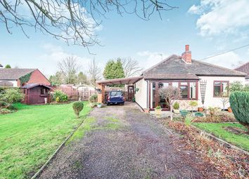 Thumbnail 2 bed bungalow for sale in Grange Road, Nailstone, Nuneaton