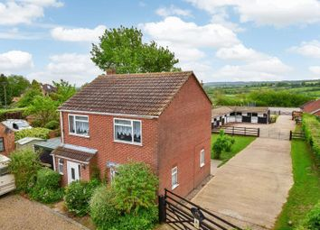 Thumbnail 3 bed equestrian property for sale in Bottom Green, Upper Broughton, Melton Mowbray