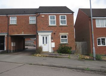 Thumbnail 2 bed semi-detached house for sale in Burdock Way, Desborough, Kettering