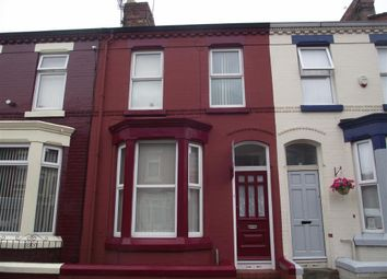 Thumbnail 2 bed terraced house to rent in Finchley Road, Anfield, Liverpool