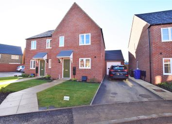 Thumbnail 3 bed semi-detached house for sale in Silverweed Road, Bodicote, Banbury
