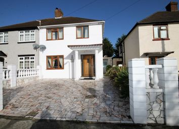 Thumbnail 3 bed semi-detached house for sale in Central Drive, Hornchurch