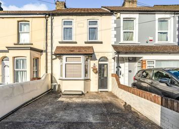 Thumbnail 3 bed terraced house for sale in Nelson Road, Gillingham, Kent