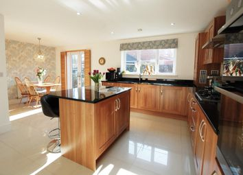 Thumbnail 4 bedroom detached house for sale in Kukri Gardens, Church Crookham, Fleet