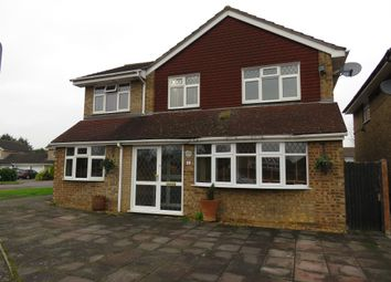 Thumbnail 5 bed detached house for sale in Lewis Close, Newport Pagnell
