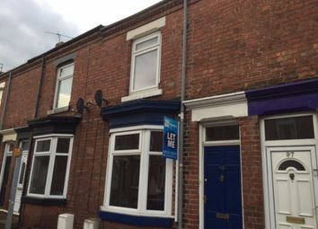 Thumbnail 2 bed terraced house to rent in Salisbury Terrace, Darlington
