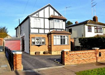 Thumbnail 4 bed detached house for sale in Morgan Crescent, Theydon Bois, Epping