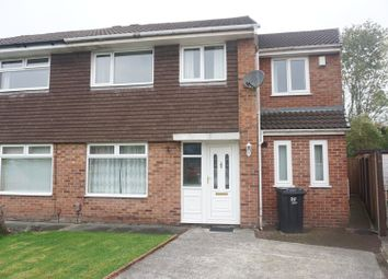Thumbnail 4 bed semi-detached house for sale in Whitby Avenue, Preston, Lancashire