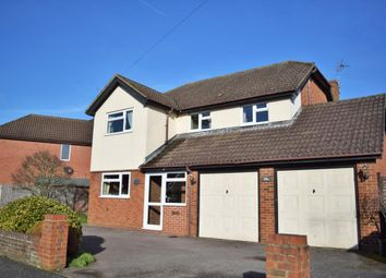 Thumbnail 4 bed detached house for sale in Grovefields Avenue, Camberley