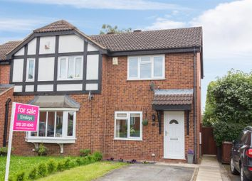 Thumbnail 2 bedroom semi-detached house for sale in Pinders Green Drive, Methley, Leeds