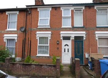 Thumbnail 2 bedroom terraced house to rent in Norfolk Road, Ipswich