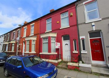 Thumbnail 3 bed terraced house for sale in Esher Road, Kensington, Liverpool