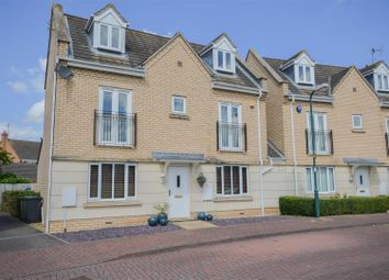 Thumbnail 4 bedroom link-detached house for sale in Thorley Crescent, Peterborough