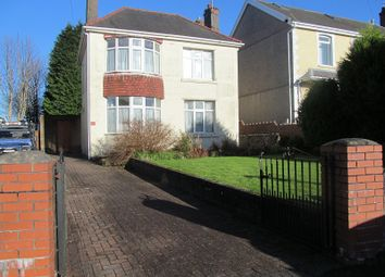 Thumbnail 4 bed detached house for sale in Frederick Place, Llansamlet, Swansea, City And County Of Swansea.