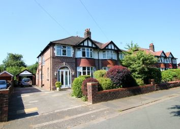 Thumbnail 3 bed semi-detached house for sale in Hunston Road, Sale