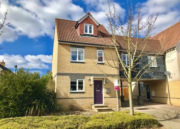 Thumbnail 4 bed link-detached house for sale in Demoiselle Crescent, Ipswich