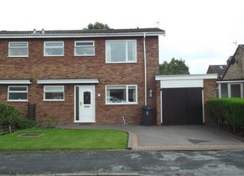 Thumbnail 3 bed semi-detached house for sale in Longfellow Road, Burntwood, Staffordshire