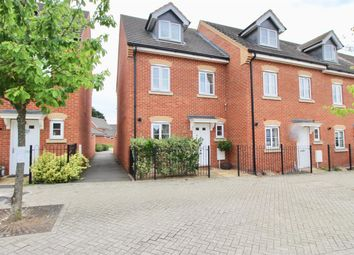 Thumbnail 4 bed end terrace house for sale in Eagle Way, Hampton Vale, Peterborough