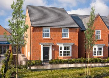"Thumbnail 4 bed detached house for sale in ""Irving"" at Manor Drive, Upton, Wirral"
