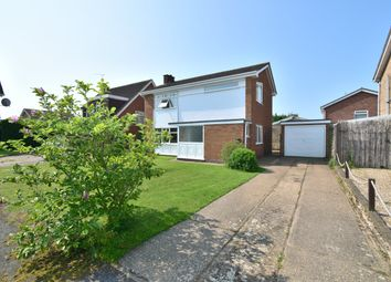 Thumbnail 3 bed detached house for sale in Priory Crescent, Western Park, Leicester