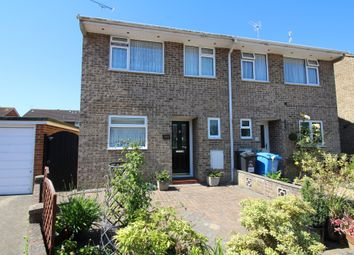 Thumbnail 3 bed semi-detached house for sale in Hewitt Road, Hamworthy, Poole
