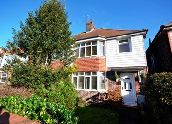 Thumbnail Semi-detached house for sale in Churchdale Road, Eastbourne