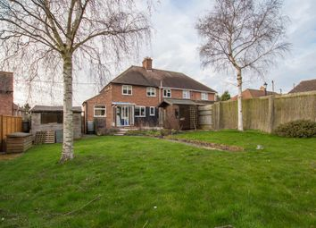 Thumbnail 3 bedroom semi-detached house for sale in Hillway, Linton, Cambridge