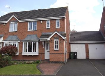 Thumbnail 3 bed semi-detached house to rent in Showell Green, Droitwich