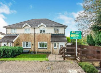 Thumbnail 3 bed semi-detached house for sale in Nant Y Coed, Thomastown, Porth