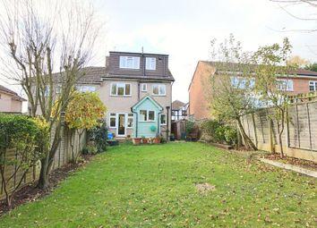 Thumbnail 4 bedroom semi-detached house for sale in Graham Avenue, Broxbourne, Hertfordshire.